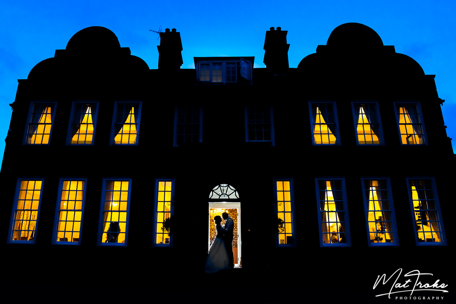 Kelham House and Country Manor Wedding Photography - Night time