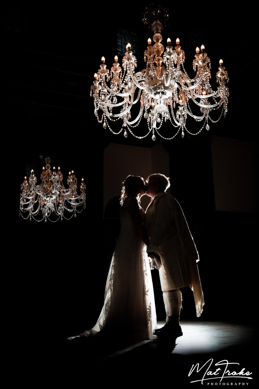 Wortley Hall Chandelier Room, Sheffield Wedding