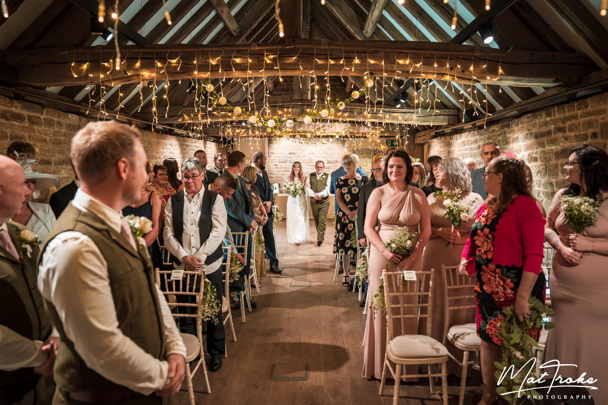 Dronfield Hall Barn Chesterfield Wedding Photographer - Mat Troke Photography