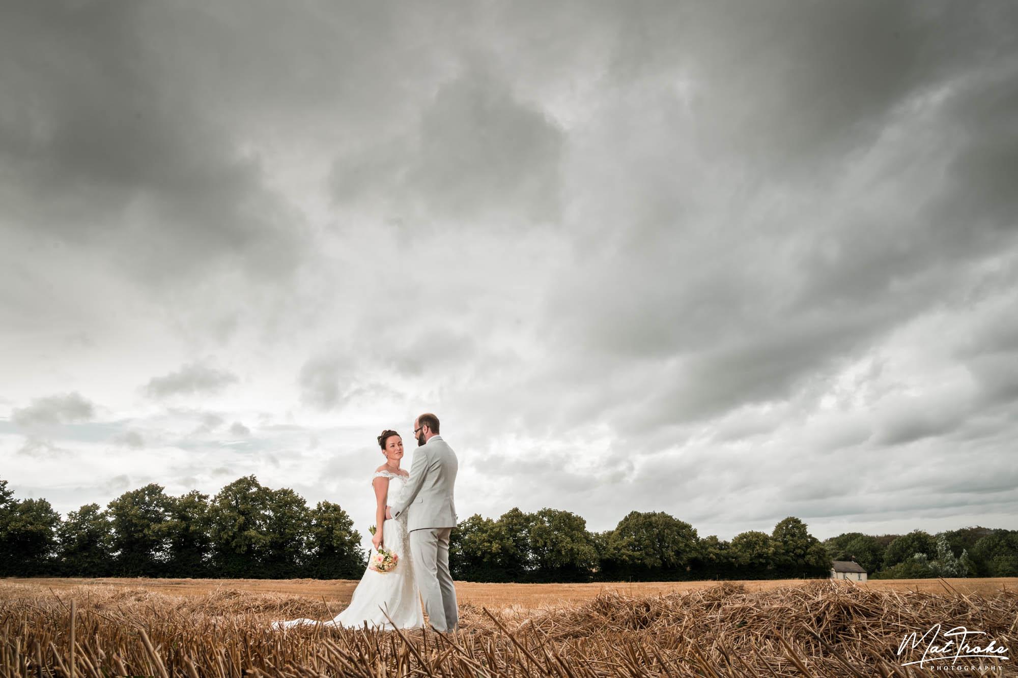 Wentworth Church Farm Field Wedding - Sheffield