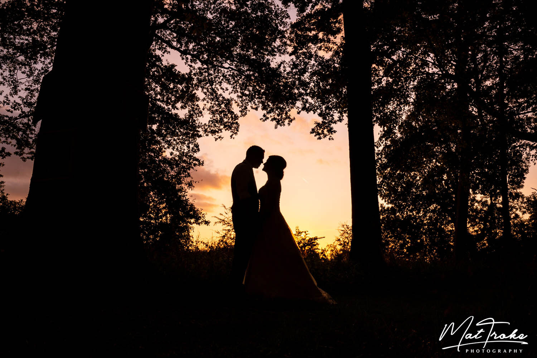 Kelham Country House Wedding Sunset