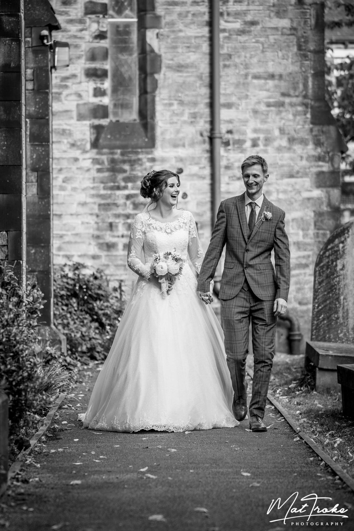 Glossop Church Wedding - Derbyshire