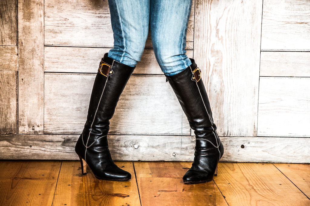 These boots....