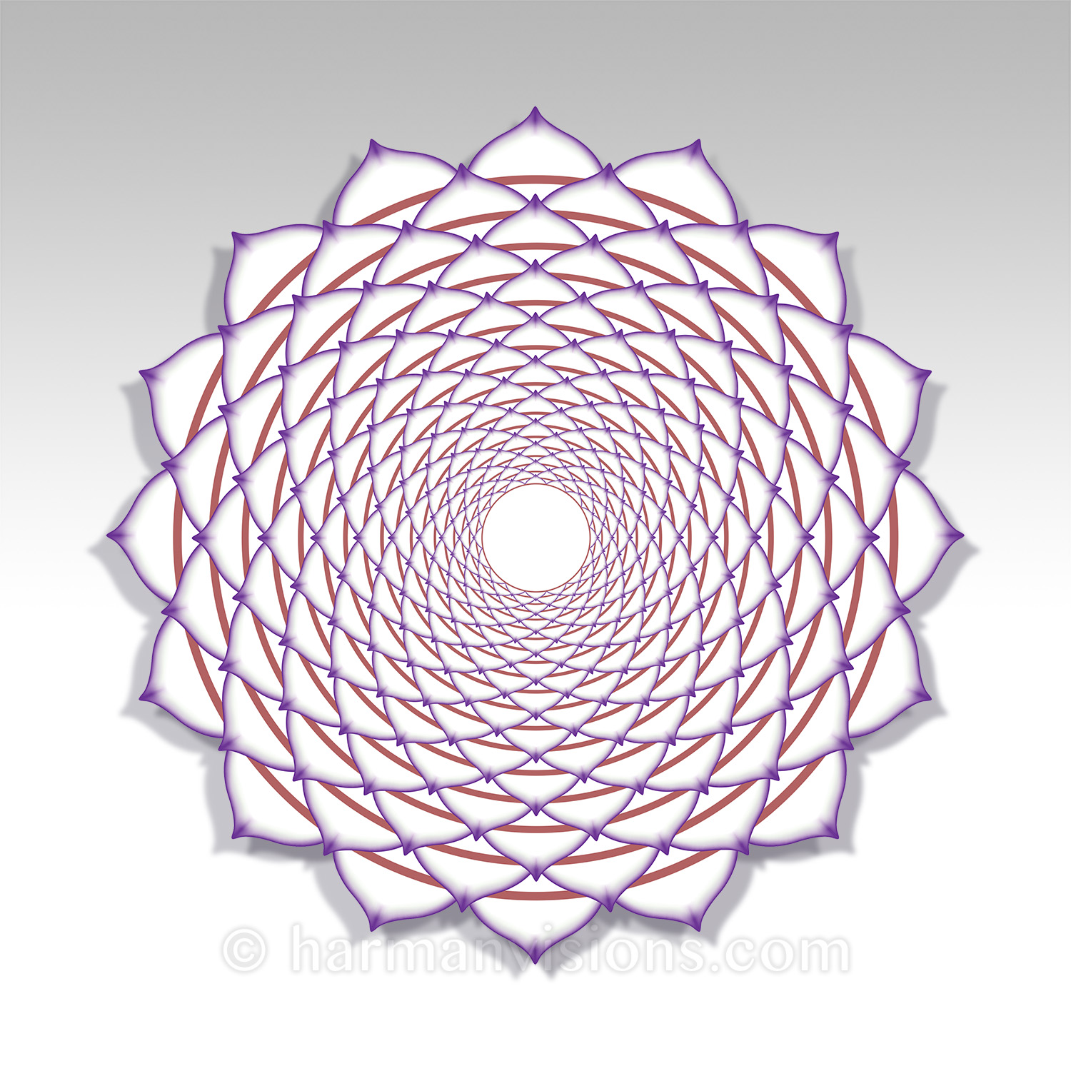 CROWN CHAKRA shaped
