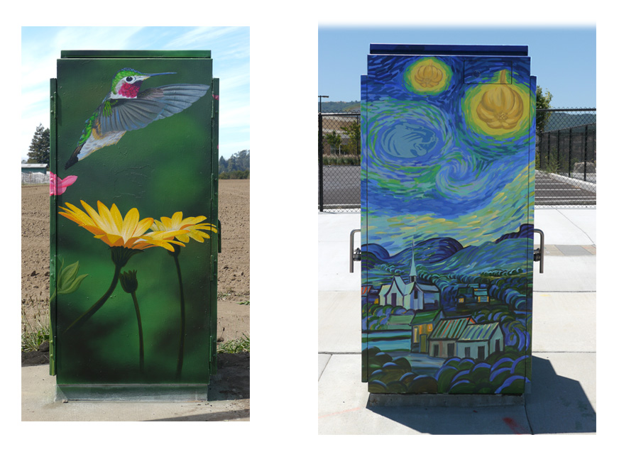 - Assorted Nature and Imaginative Street Boxes. Click for more images.