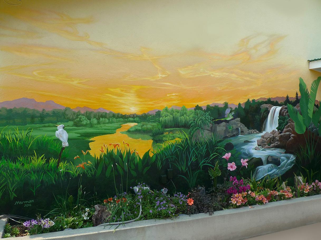 - Residential Garden Wall.
