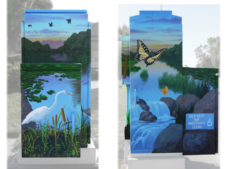 Ecology Box 2, Gilroy CA