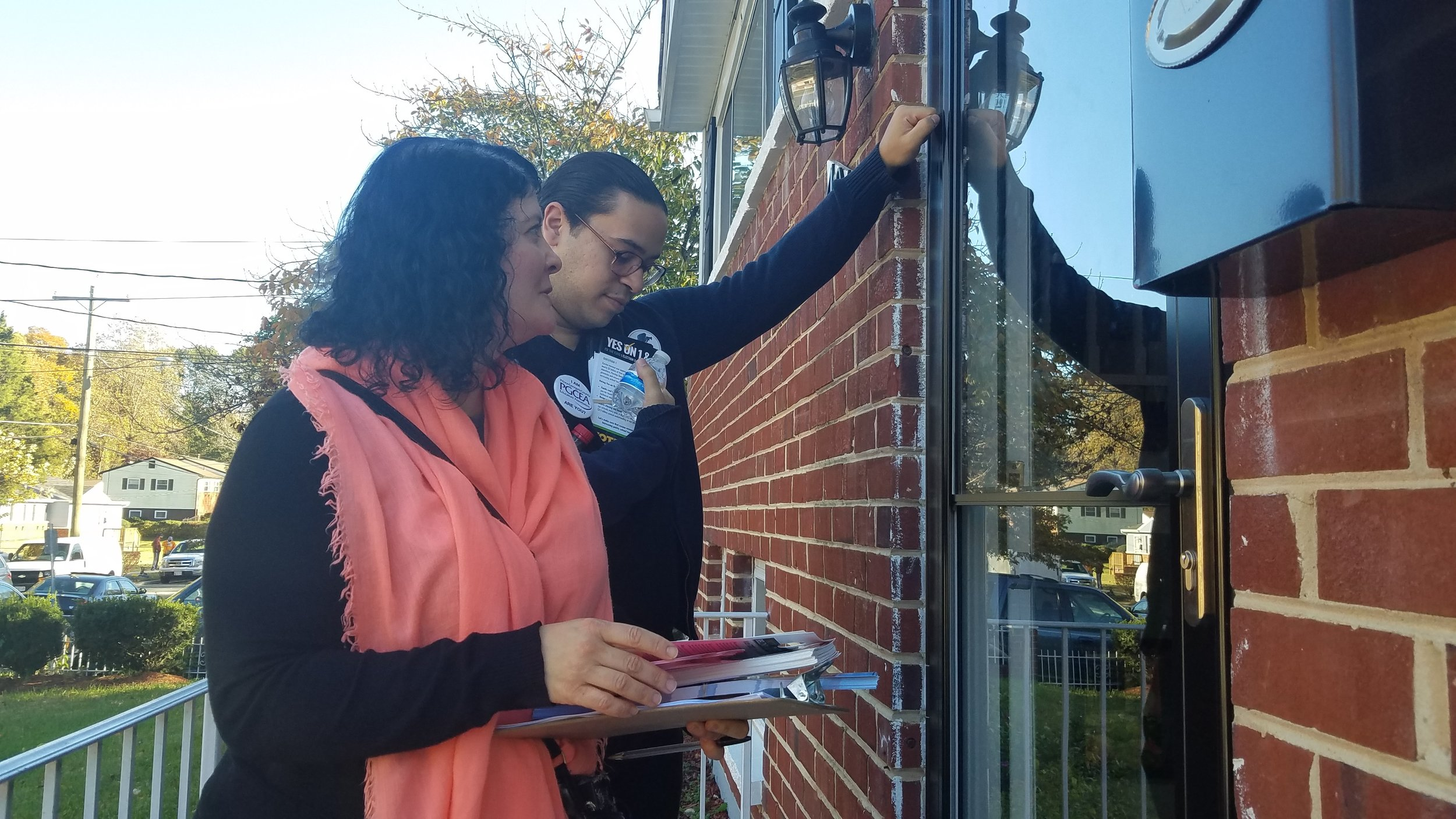 CVH Power canvassing in MD for Ben Jealous