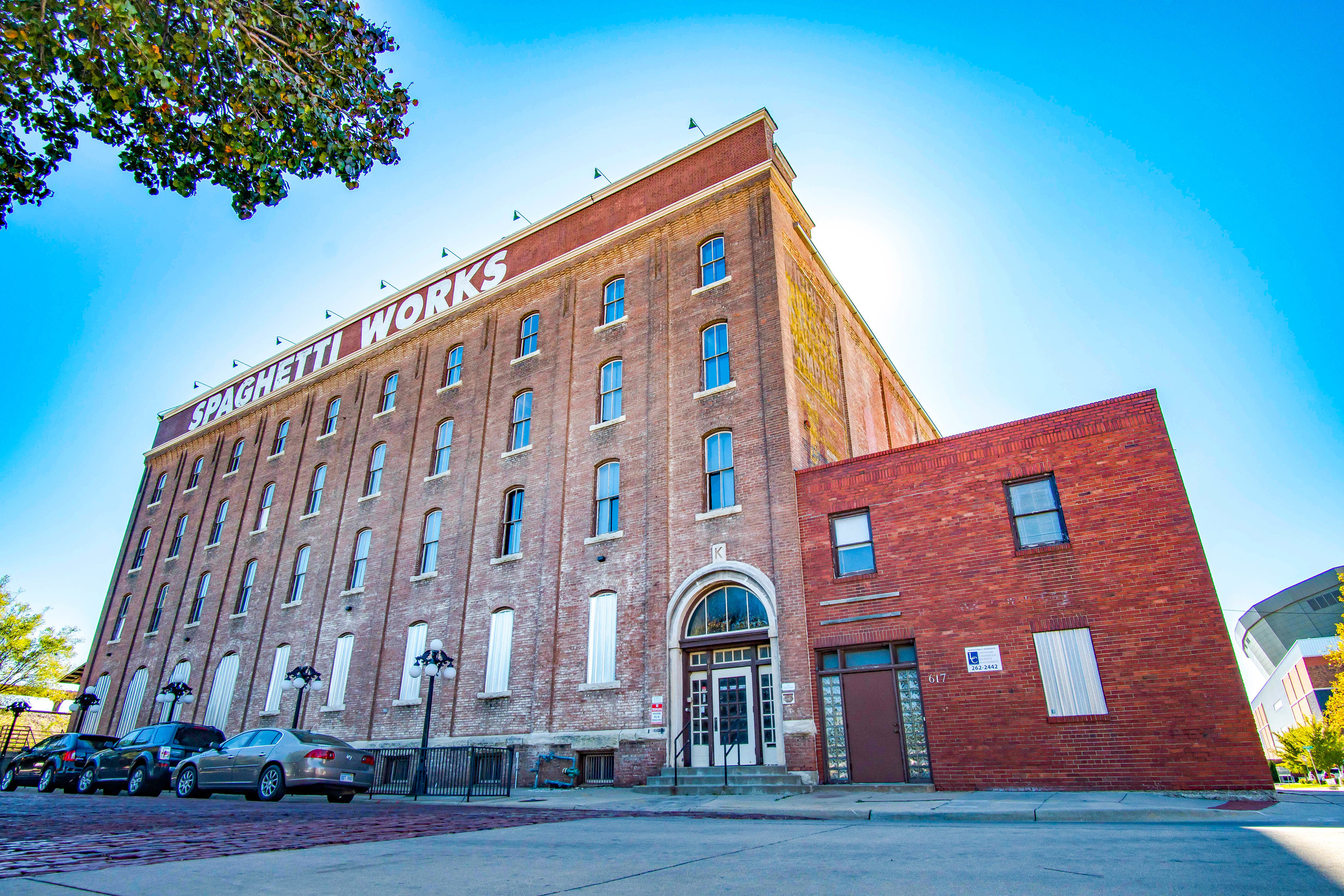 Spaghetti Works - Constructed in 1894, shut down in 2004, and now 2018 brings new life to this iconic structure as a key part of the Spaghetti Works District renovation.Learn More