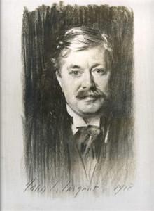 Portrait of Henry William Henderson by John Singer-Sergeant