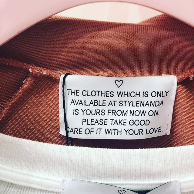 Creative labelling story. Taking great care of what we own. Such a brilliant message of love to spread out.