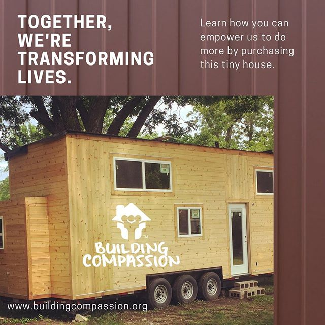 Buying this tinyhome will change lives. It will help give adequate housing to community service leaders in need.