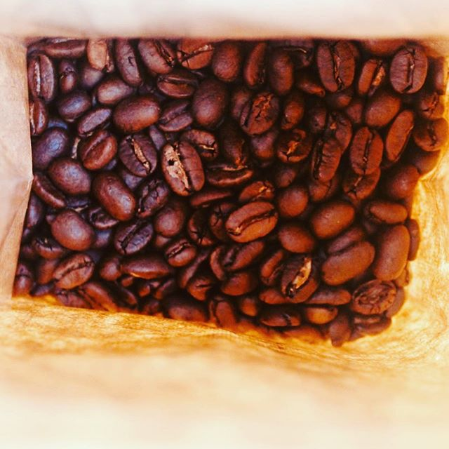 The tantalizing aroma of fresh roasted coffee!!!
