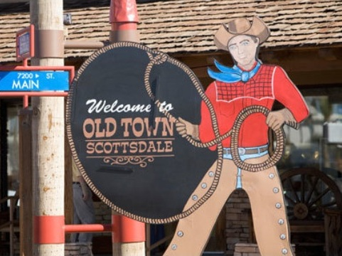 Old Town Scottsdale - stroll through historic Old Town to get a real taste of Scottsdale. The area is conveniently situated downtown, within an easily walkable neighborhood filled to the brim with award winning restaurants, fine art galleries, souvenir outlets, jewelry shops and unusual stores.