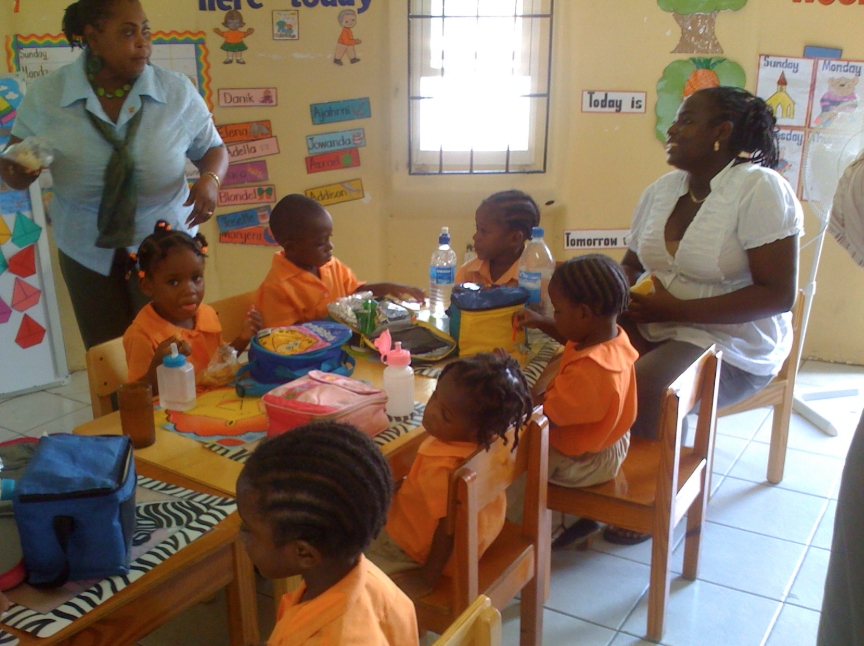 ICRI Zimbabwe - Sharing a Meal