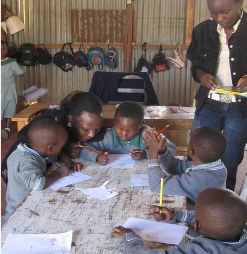ICRI Kenya - Writing and reading practice