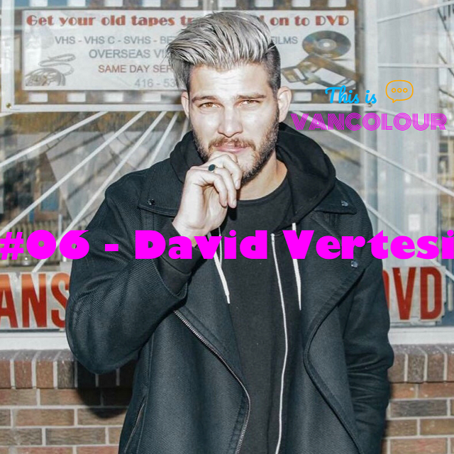 David Vertesi is the one of the founders of the Vancouver Mural Festival and the bassist for the indie-pop band, Hey Ocean!