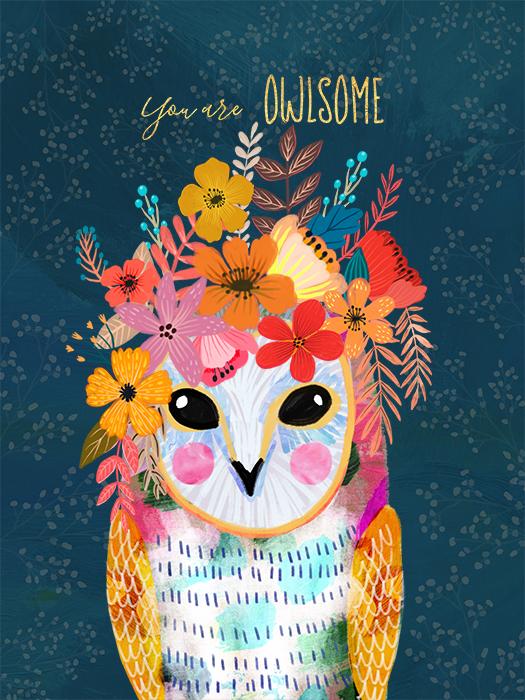 Owl - Mia Charro