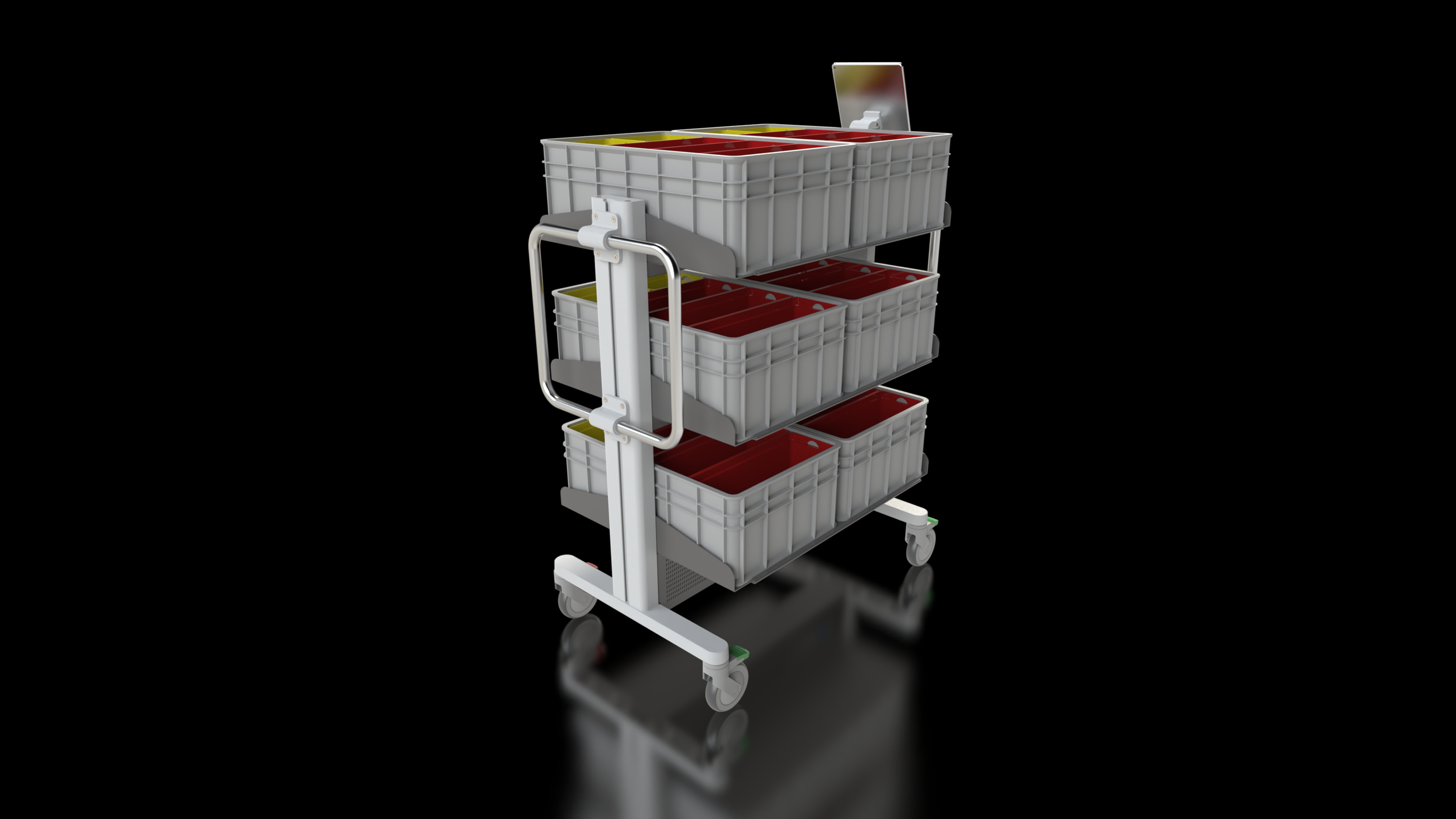 grocery-fulfillment-order-picking-cart