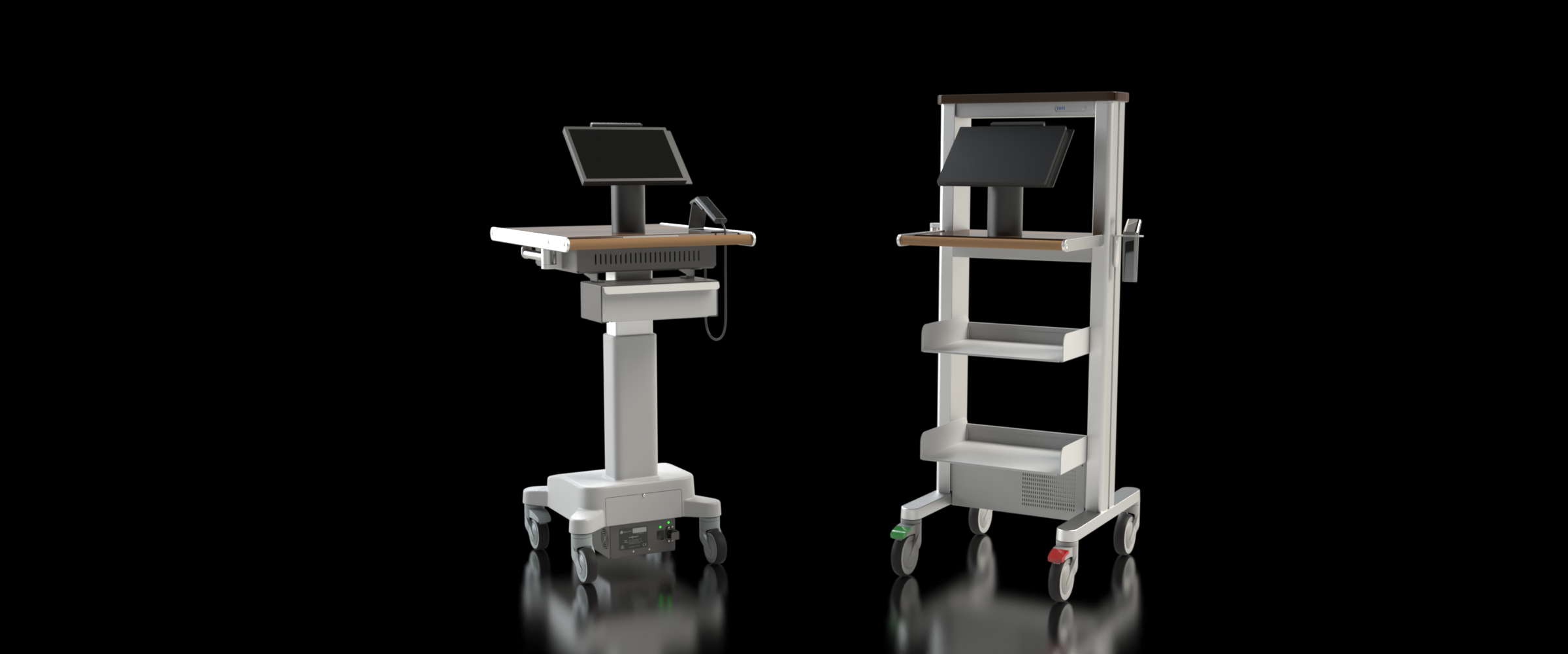 Mobile Checkout Stand