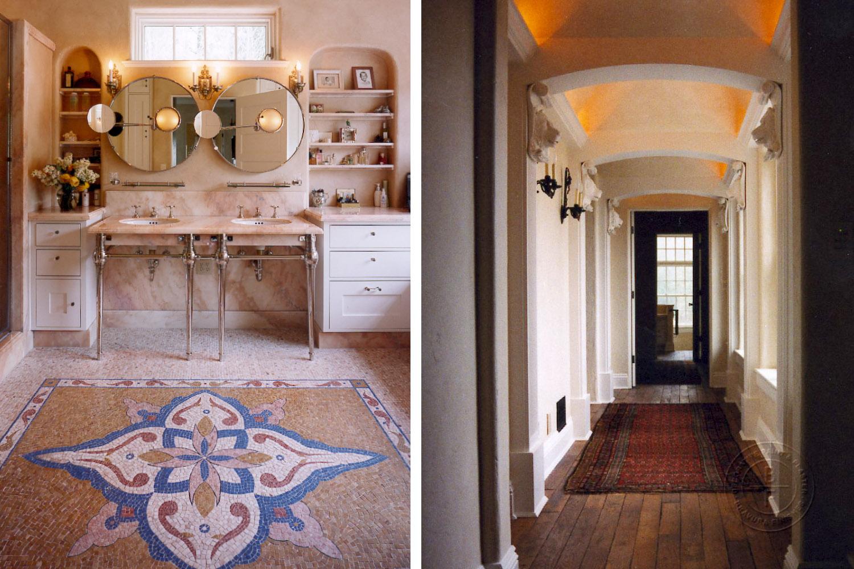 Hallway & Master Bath Walls