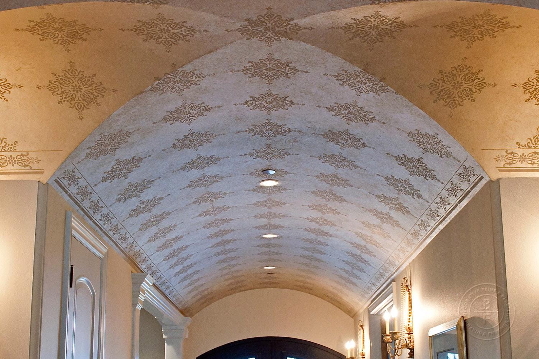 Main Entrance Groin Ceilings, Street of Dreams