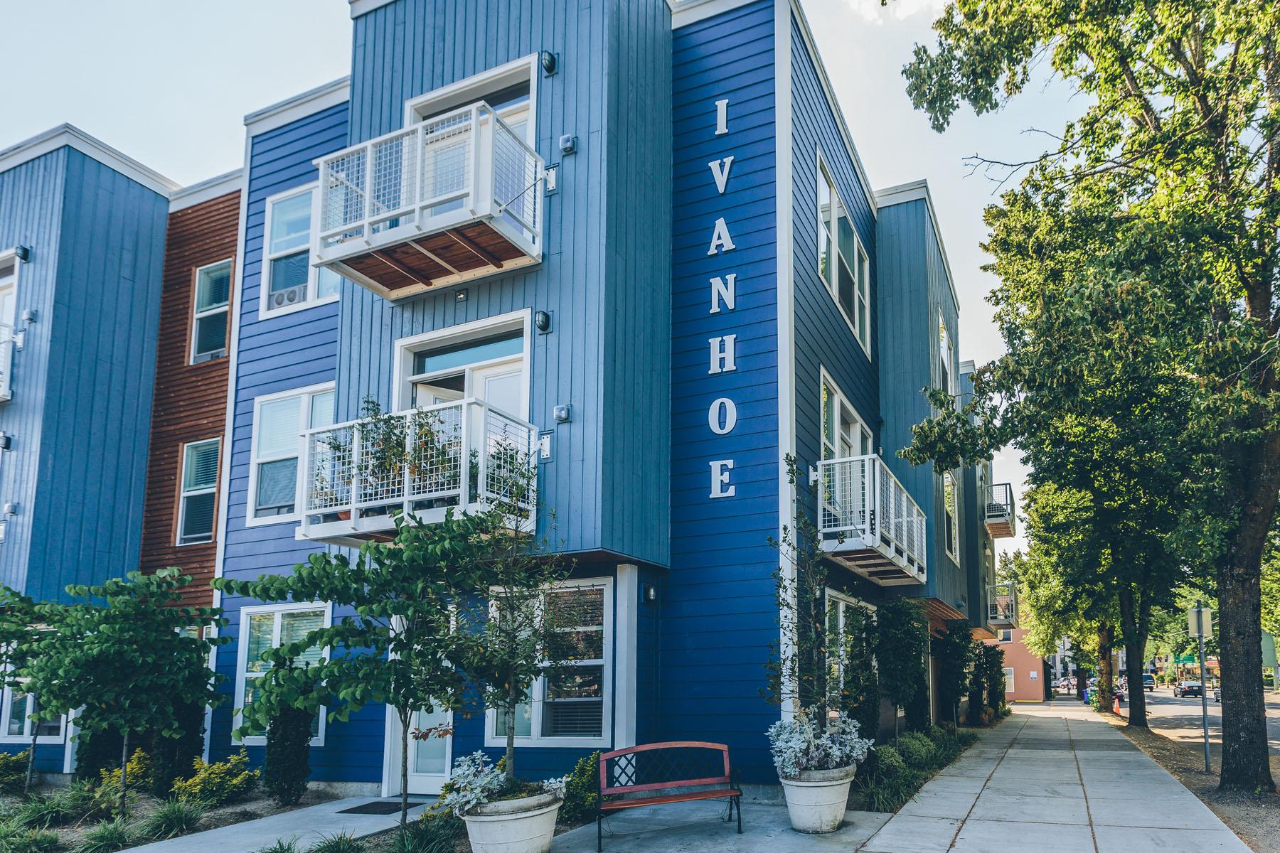 Ivanhoe - 8510 N Ivanhoe St.Portland, OR 97203Studios, 1, 2 Bedrooms