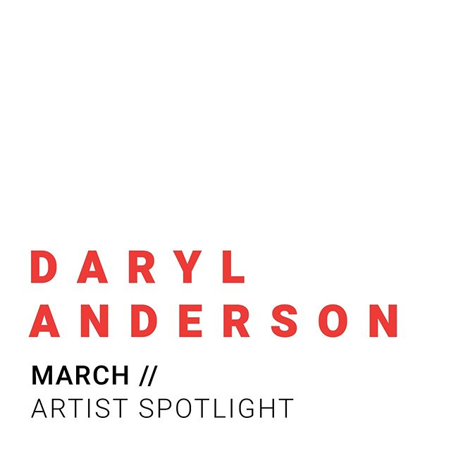 A R T I S T  S P O T L I G H T - Our March 'Artistic Spotlight' is Daryl Anderson.  Read up about his journey for photography that all started on a lie, and how he built that into becoming the artist he is today. - Check out our website to read more ✨