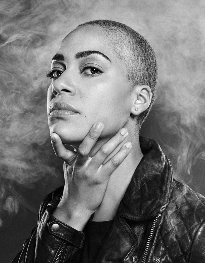 Image Credit: Cush Jumbo. Photo by Dean Chalkley. Concept by Émilie Chen