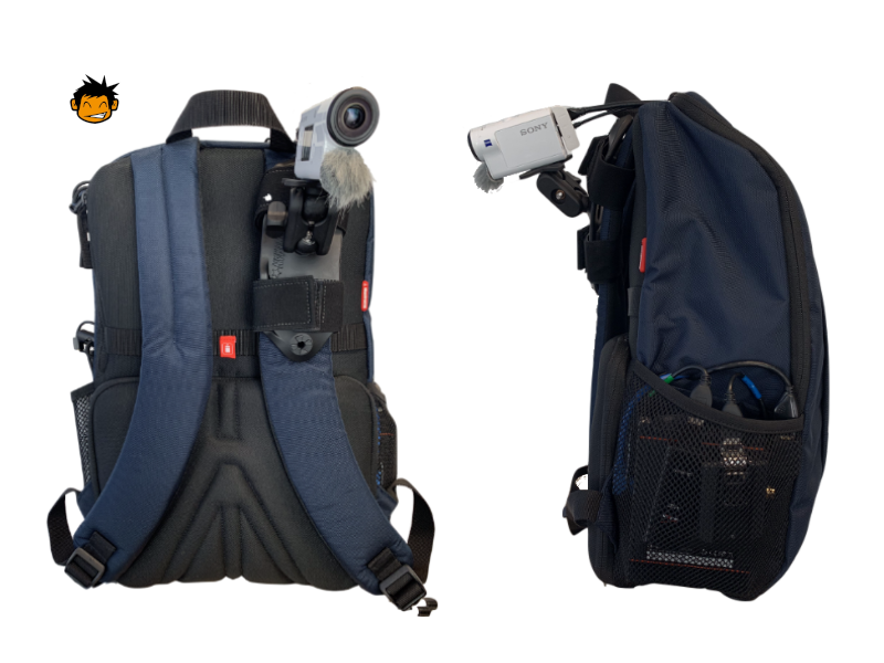 'GUNRUN' IRL Backpack - v6 - Choose your viewAll of our backpacks come shipped with the camera shoulder mounted for first person POV streaming, allowing the broadcaster full control and movement of both hands and allows the viewer to see what they see and experience what they experience first hand. Our backpacks also come shipped with a high quality selfie stick and tripod. If the broadcast calls for it, the camera can be detached at anytime and replaced on the selfie stick pointed back at the broadcaster, putting them in the frame and making them the focus of the stream. And when they are done with a day of IRL streaming, or just want to grab a bite to eat with friends, they can put the camera on the included tripod and let their stream join in.