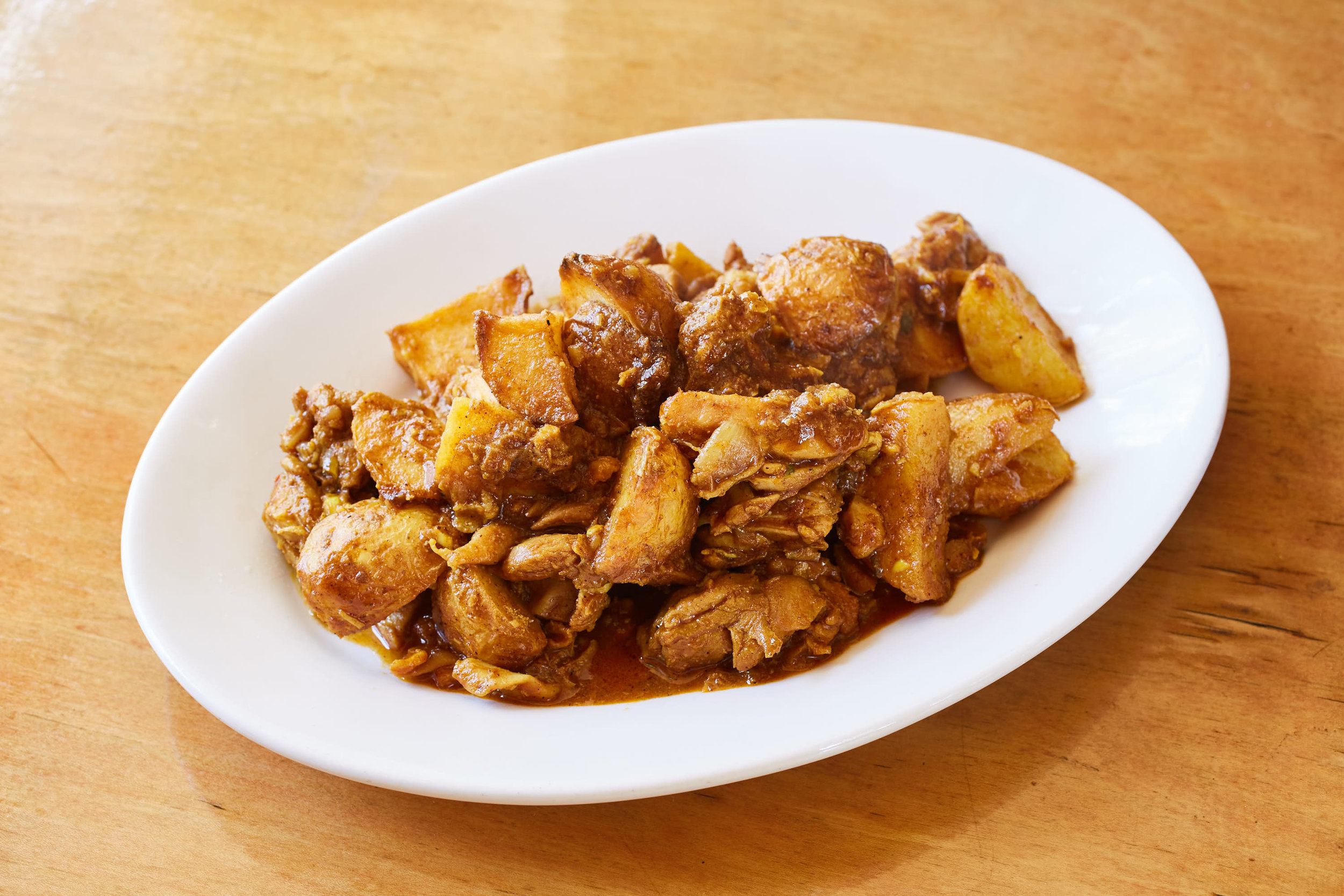 Chicken Masala with Potatoes