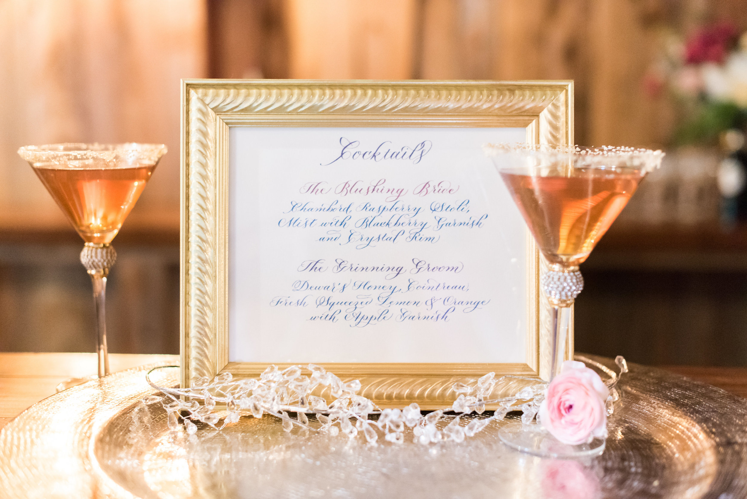 Photo by Molly and Victoria    Drinks designed by Above & Beyond Catering