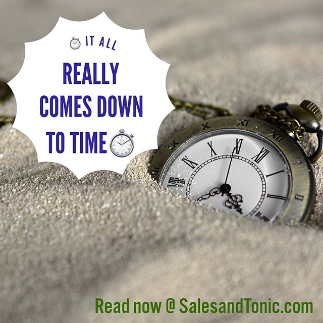 Just published. It's all about time. Time is easily the most valuable commodity in the world. #sales #salestips #saleslife #saleslifestyle #selling #salesfitness #salestravel #businesstravel  #businesstrip #mensstyle #mensfashion #suits #ties