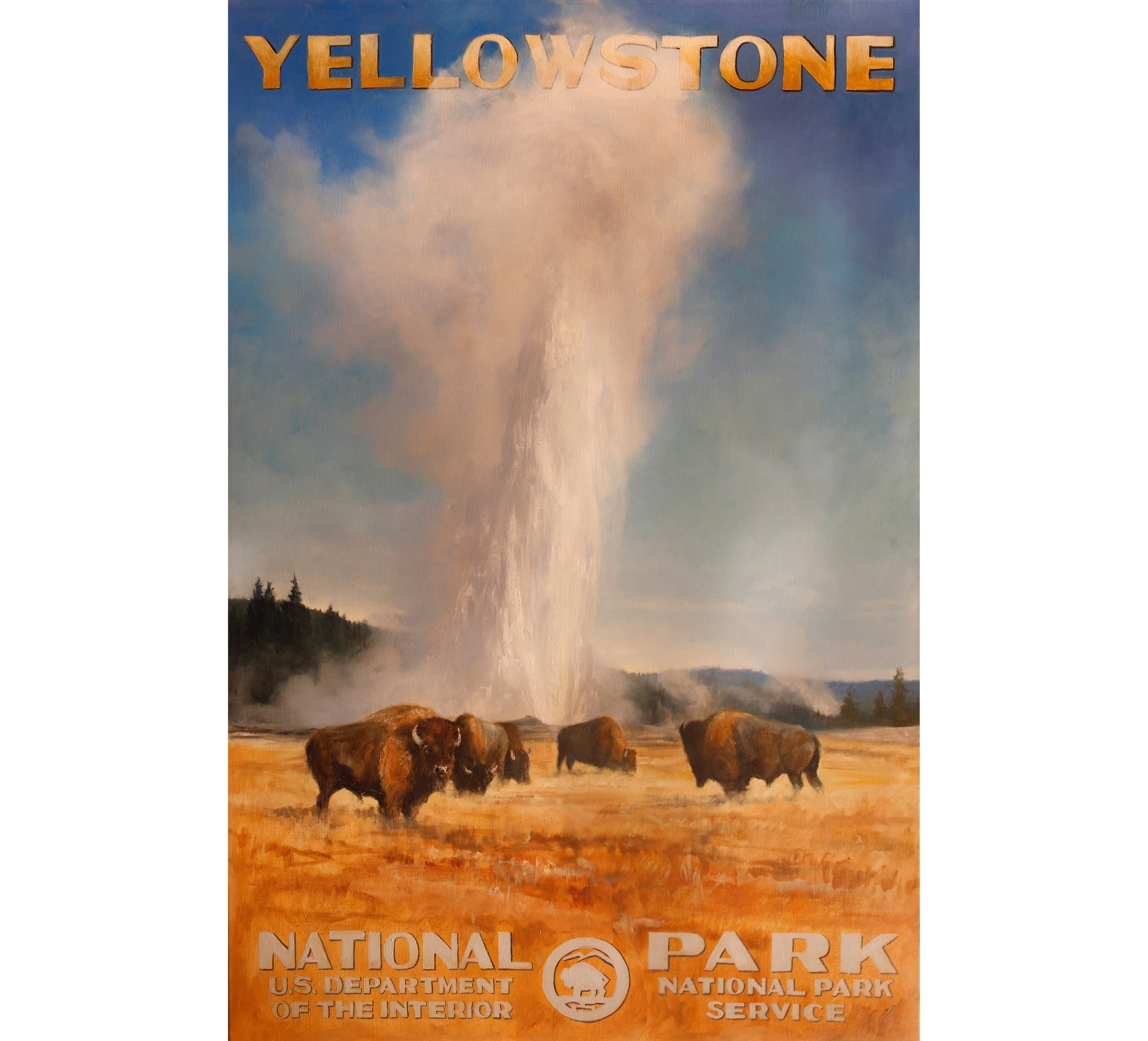Original from  Beauty of Our National Parks  now available at the gallery!