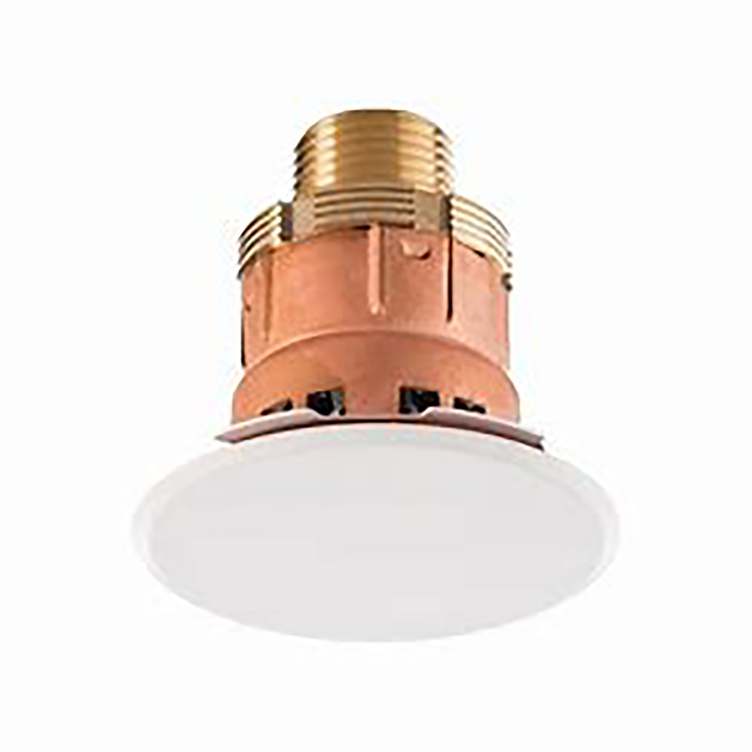 DISCREET - Concealed sprinkler heads in the ceiling space with the smallest cover plate in the industry - only 60 mm.