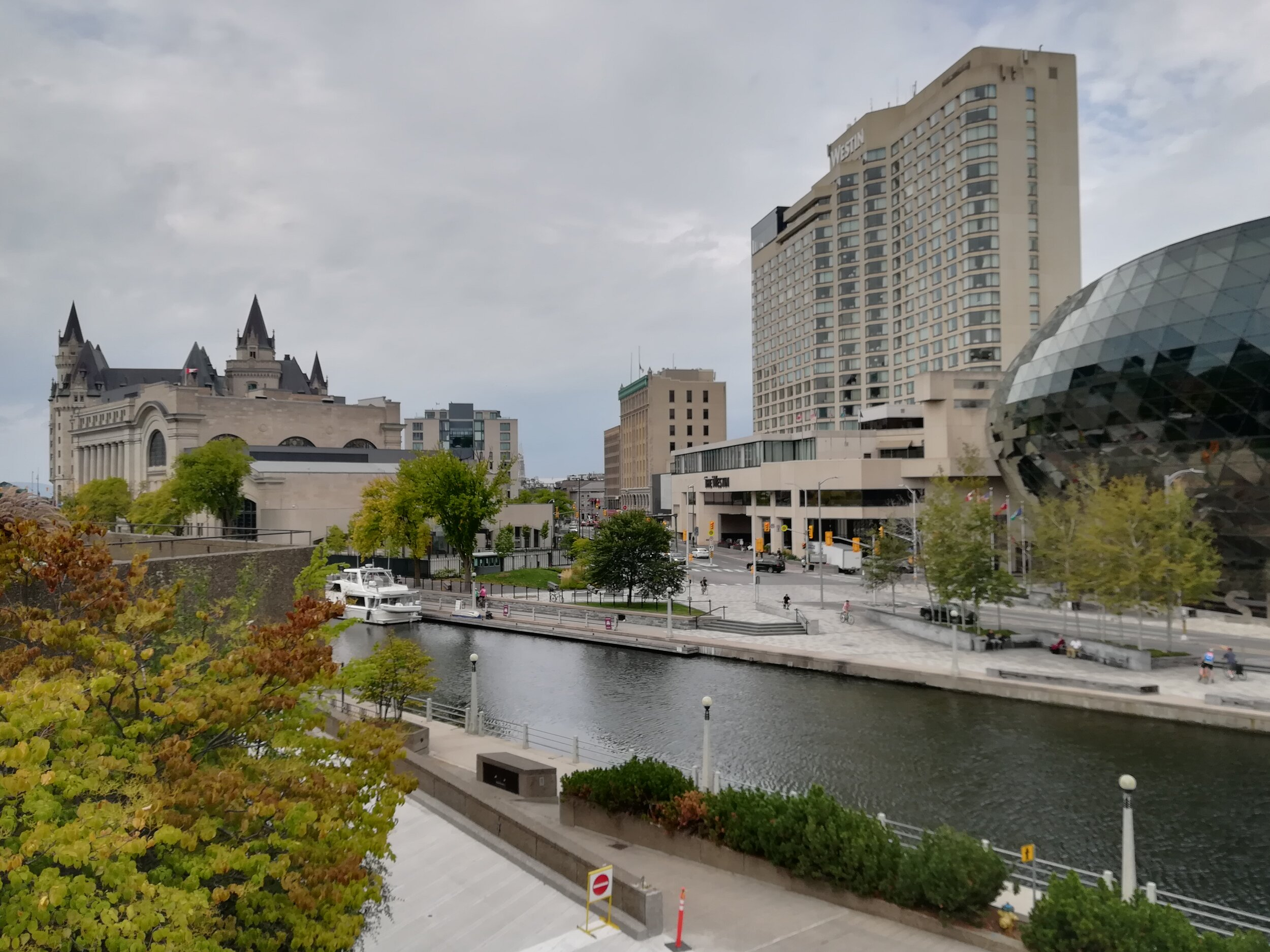 Rideau Canal at Ottawa