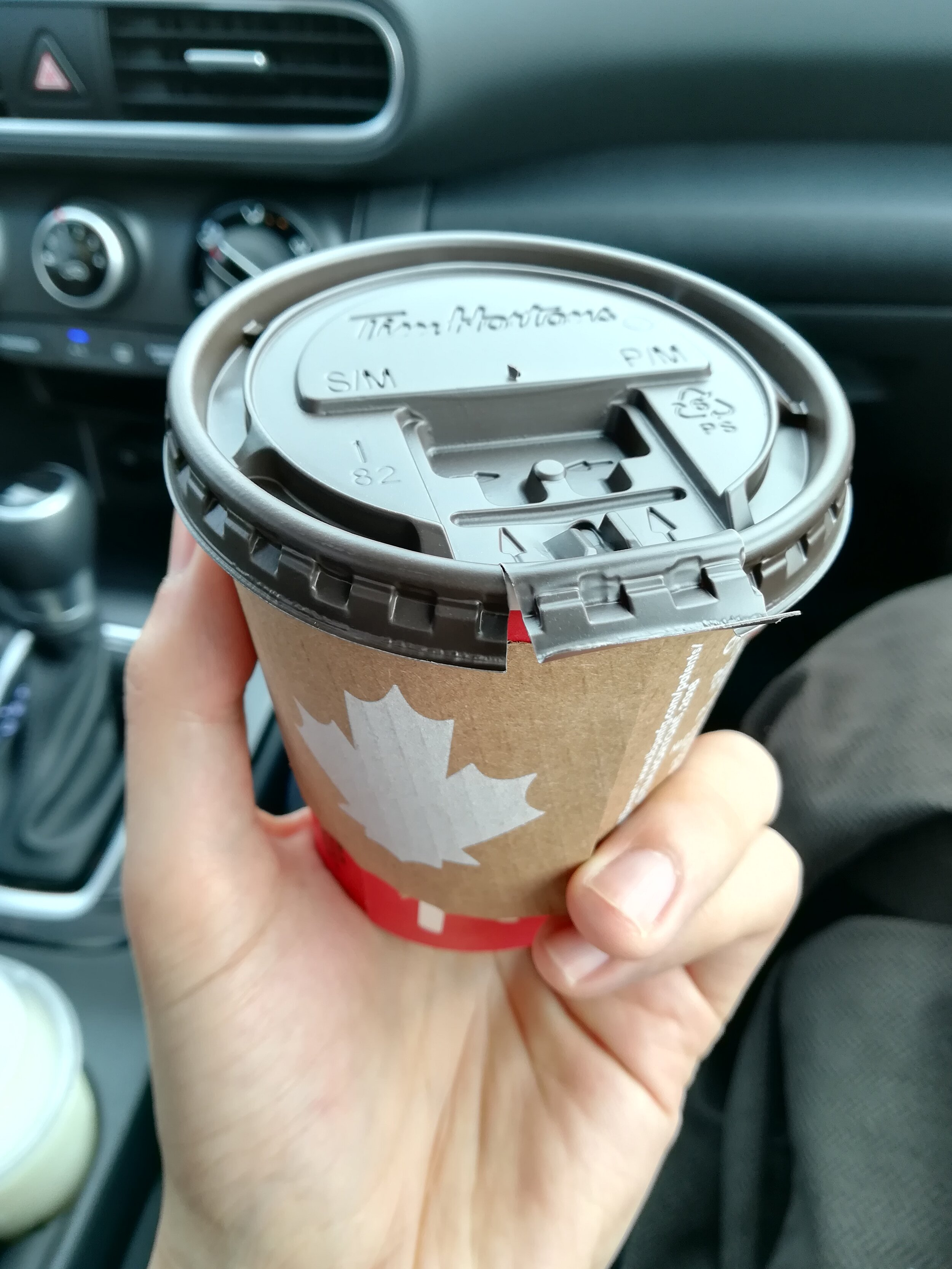 This blog is NOT sponsored by Tim Hortons. I just like the coffee and the food in there.