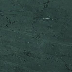 Soapstone - Soapstone is a durable stone that is softer than granite and primarily composed of talc. Most commonly found in light grey hues, it can also have tones of blue or green. It is heat resistant, which makes it ideal for fireplaces. Soapstone lining in a fireplace can quickly absorb heat and remain warm for some time after the fire is out. It can also be used for kitchen countertops. Scratches can be easily repaired with ordinary sandpaper and mineral oil. Due to its non-porous nature and resistance to extreme temperatures, soapstone is a popular choice for outdoor kitchens.