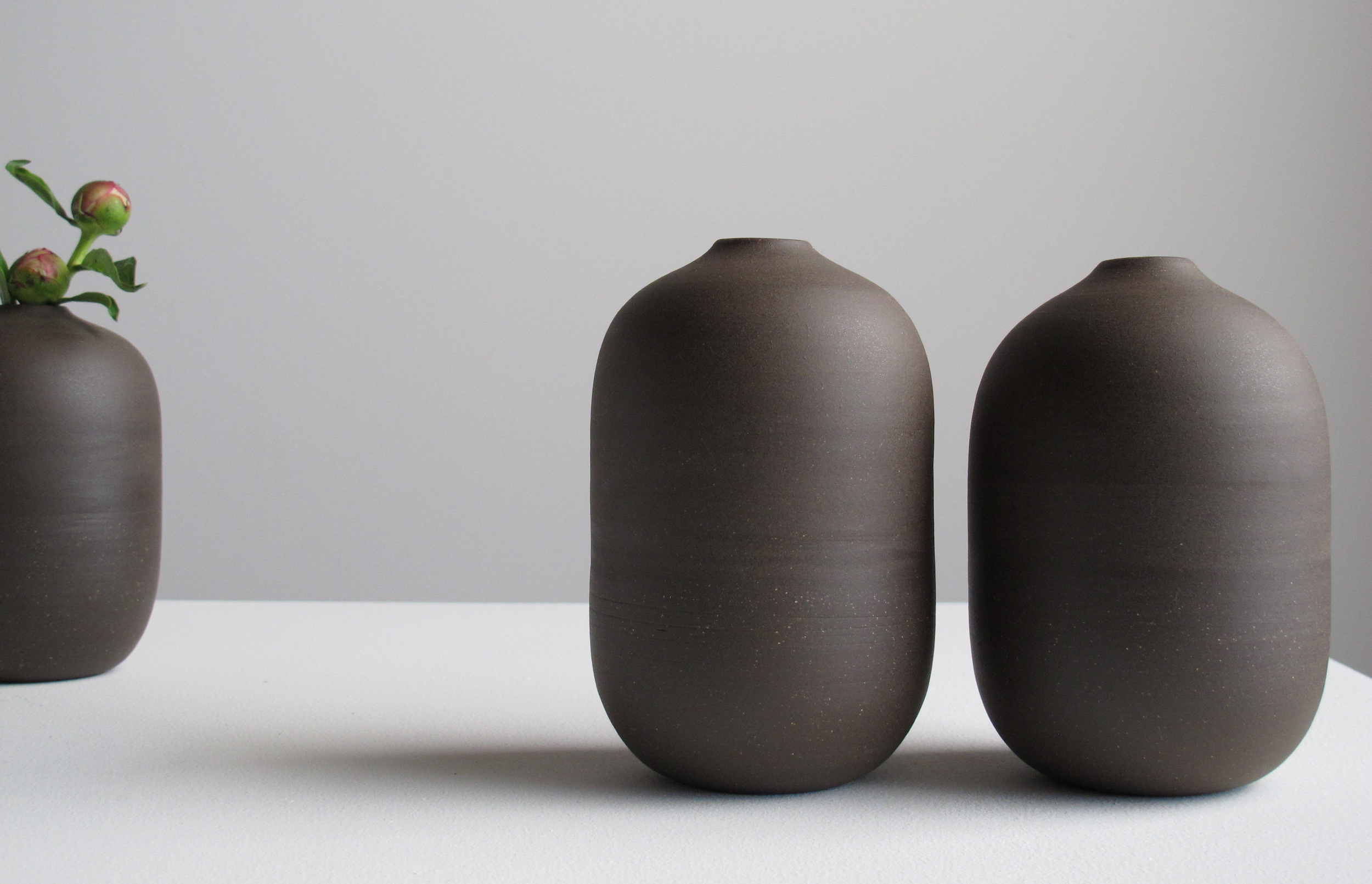Barrel bud vase
