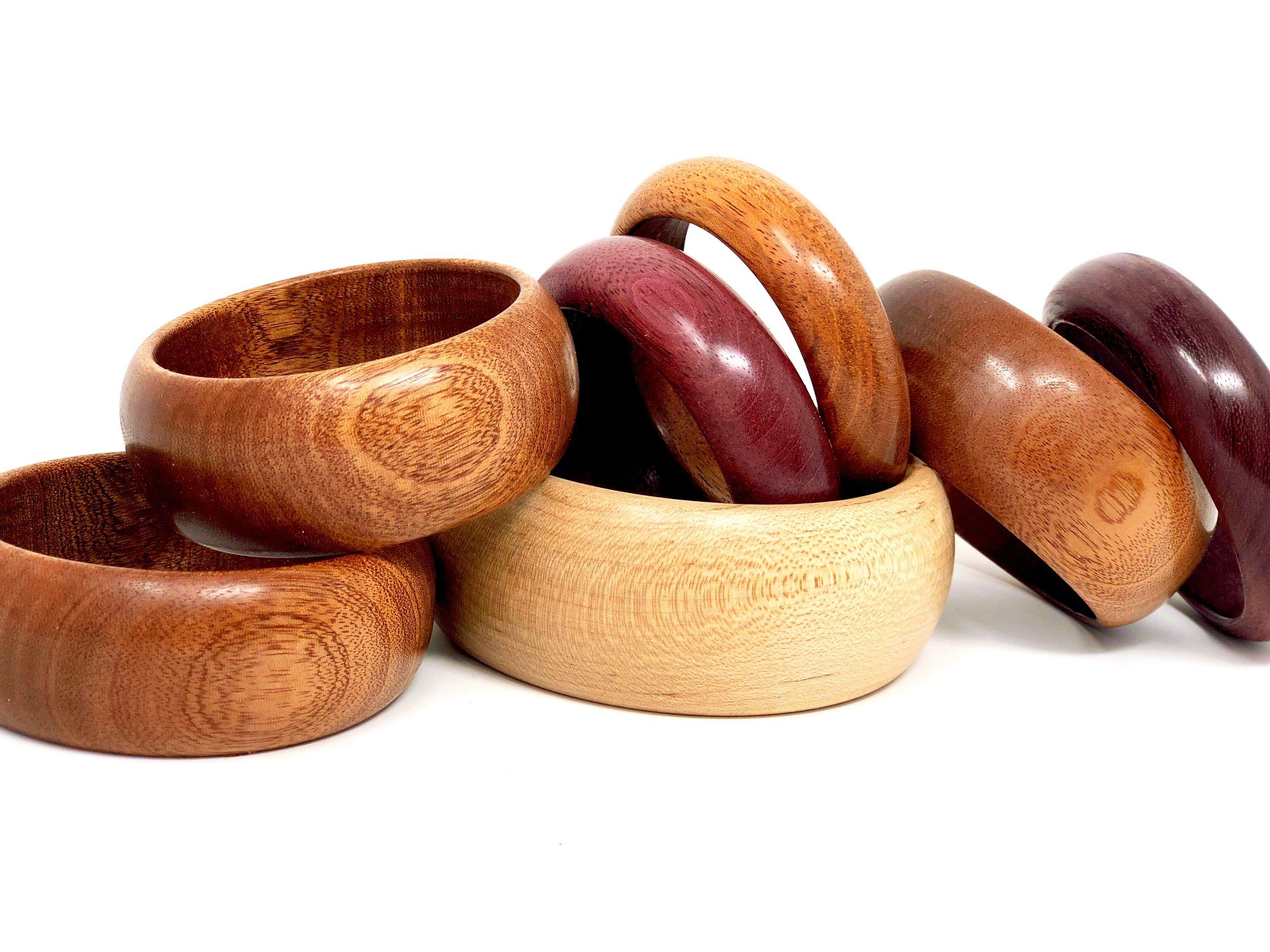 Wooden Bangle Bracelets Ballew Woodworks