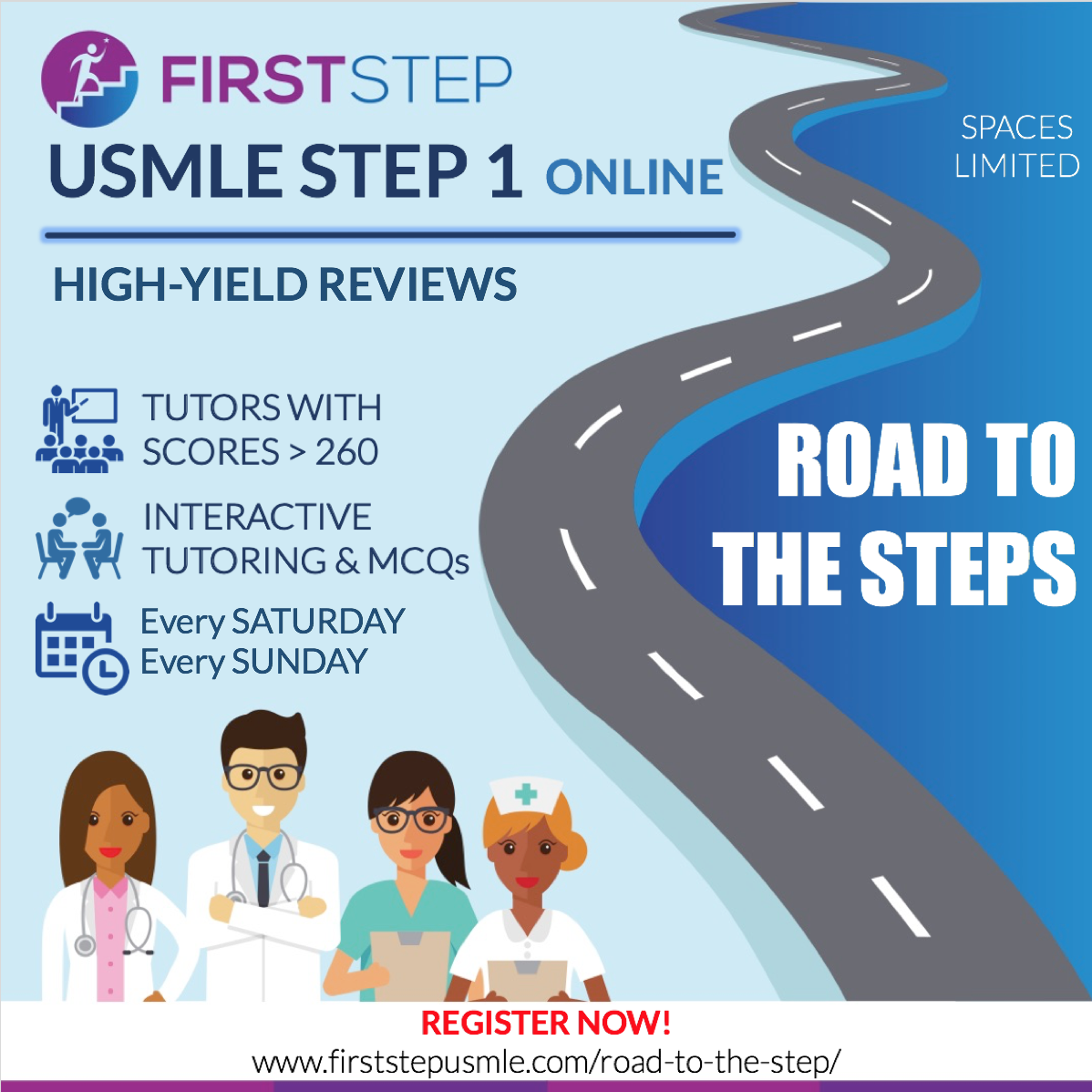 Road To The Step - First Step Usmle | USMLE Step 1 Tutoring