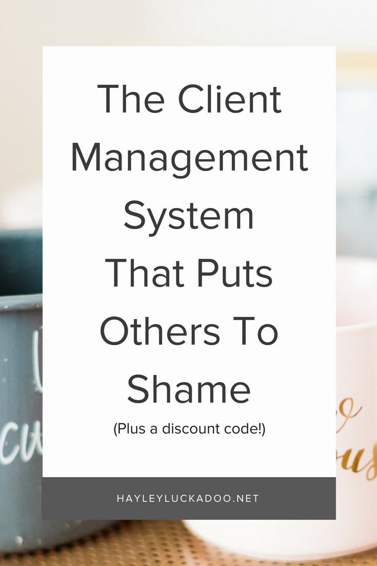 The Client Management System That Puts Others To Shame