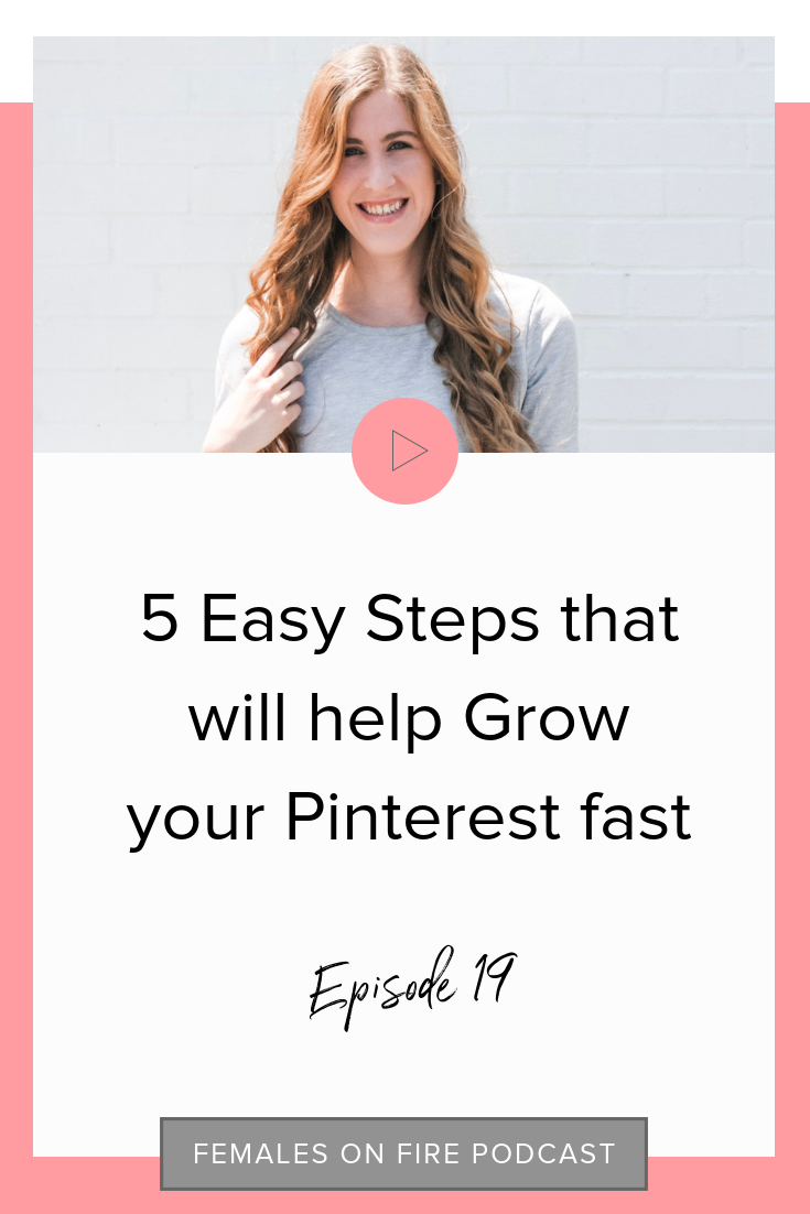 5 Easy Steps that will help Grow your Pinterest fast with Hayley Luckadoo