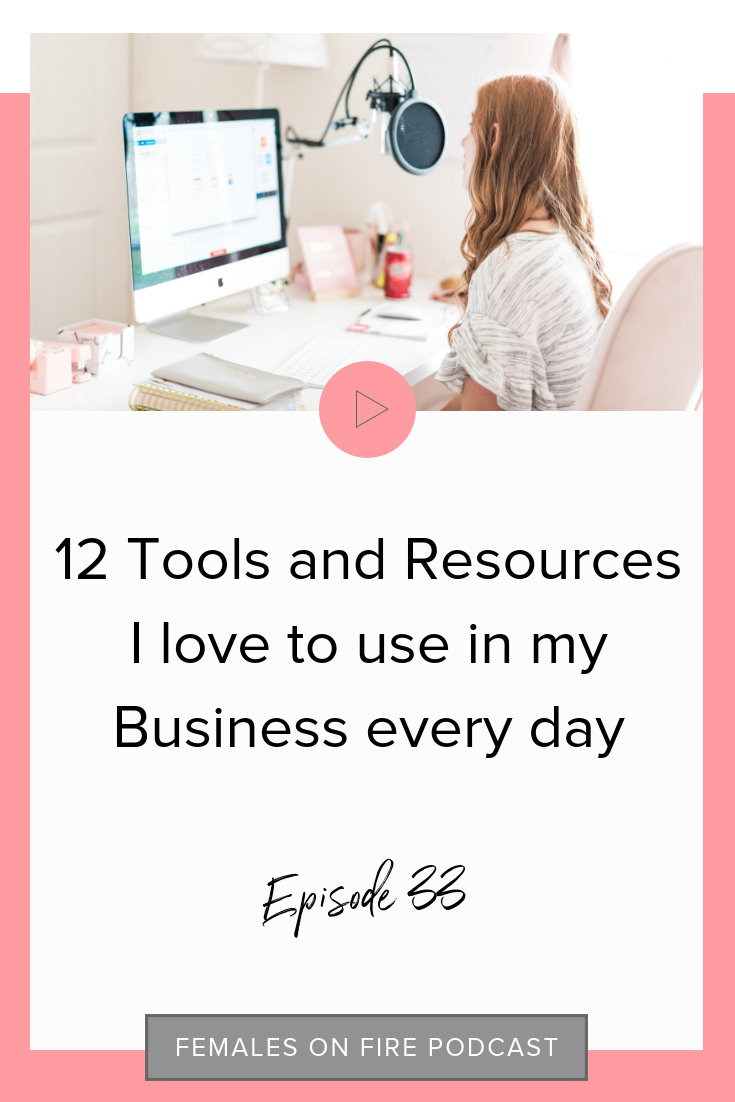 12 Tools and Resources I love to use in my Business every day with Hayley Luckadoo