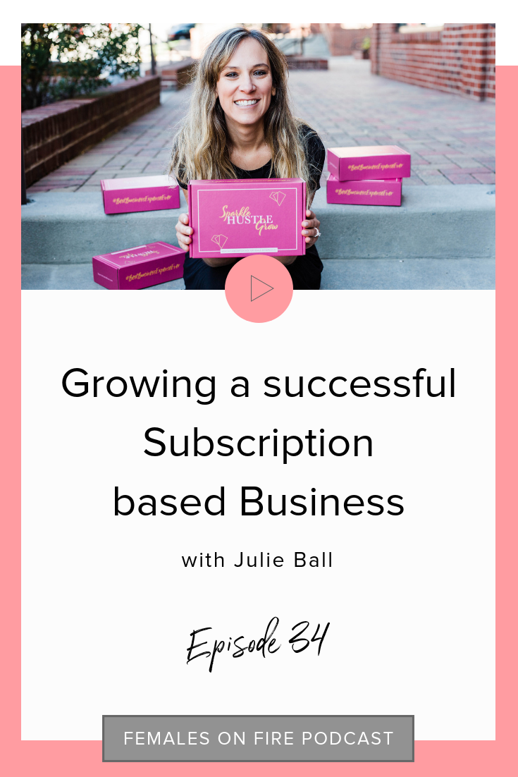 Growing a successful Subscription based Business with Julie Ball