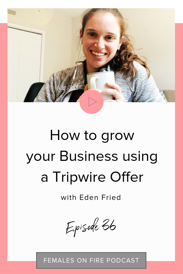 How to grow your Business using a Tripwire Offer with Eden Fried