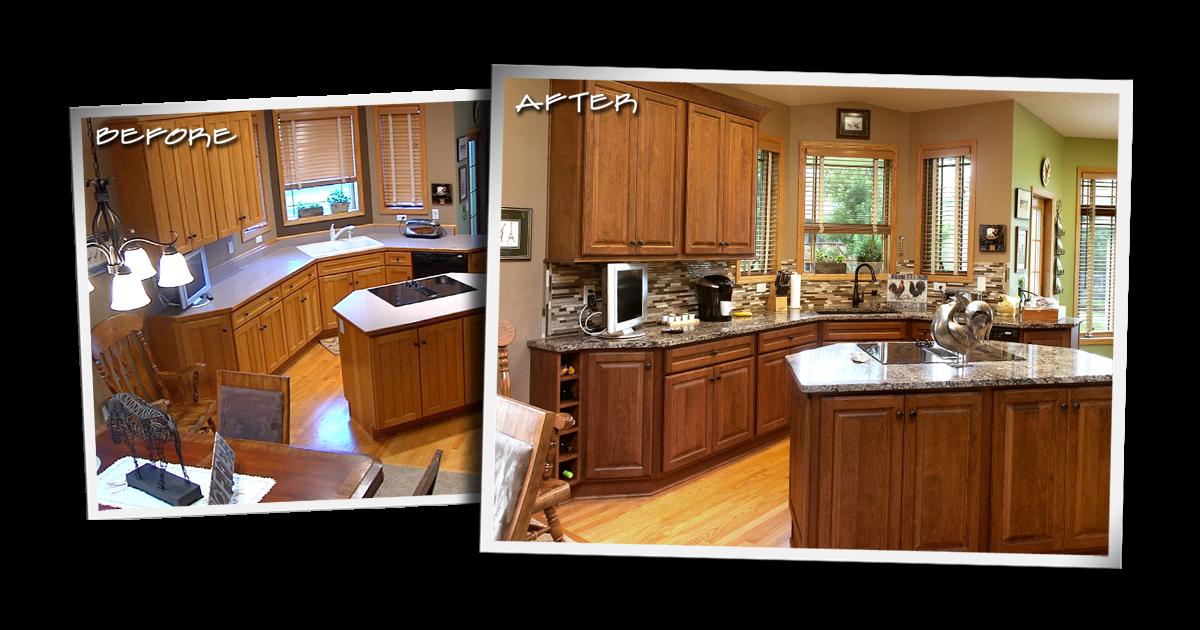 Cabinet Refacing Resurfacing Kitchen Bathroom Central Arizona Remodeling