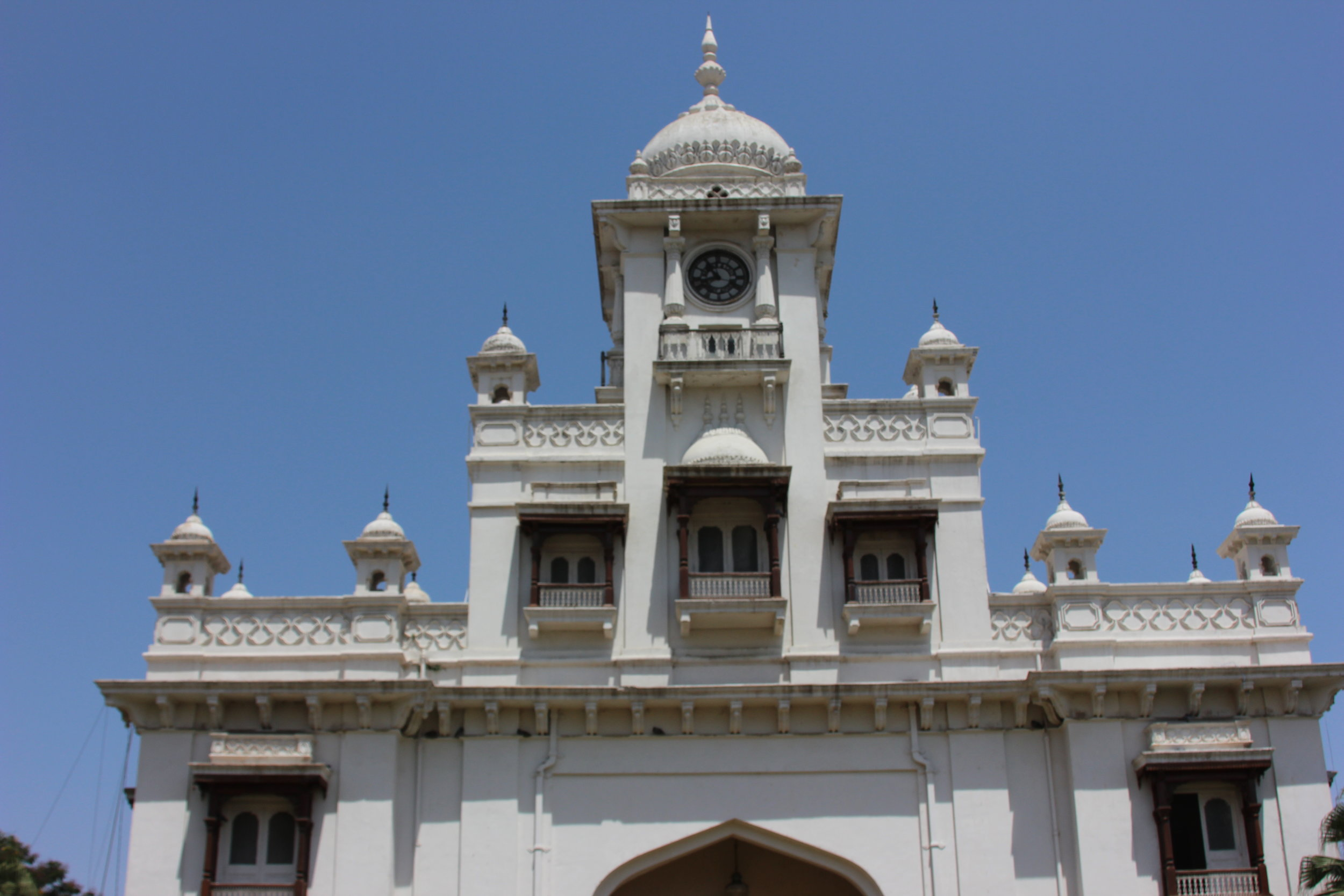 Clock Tower above the main gate of Chowmahalla has been ticking away for around 125+ years