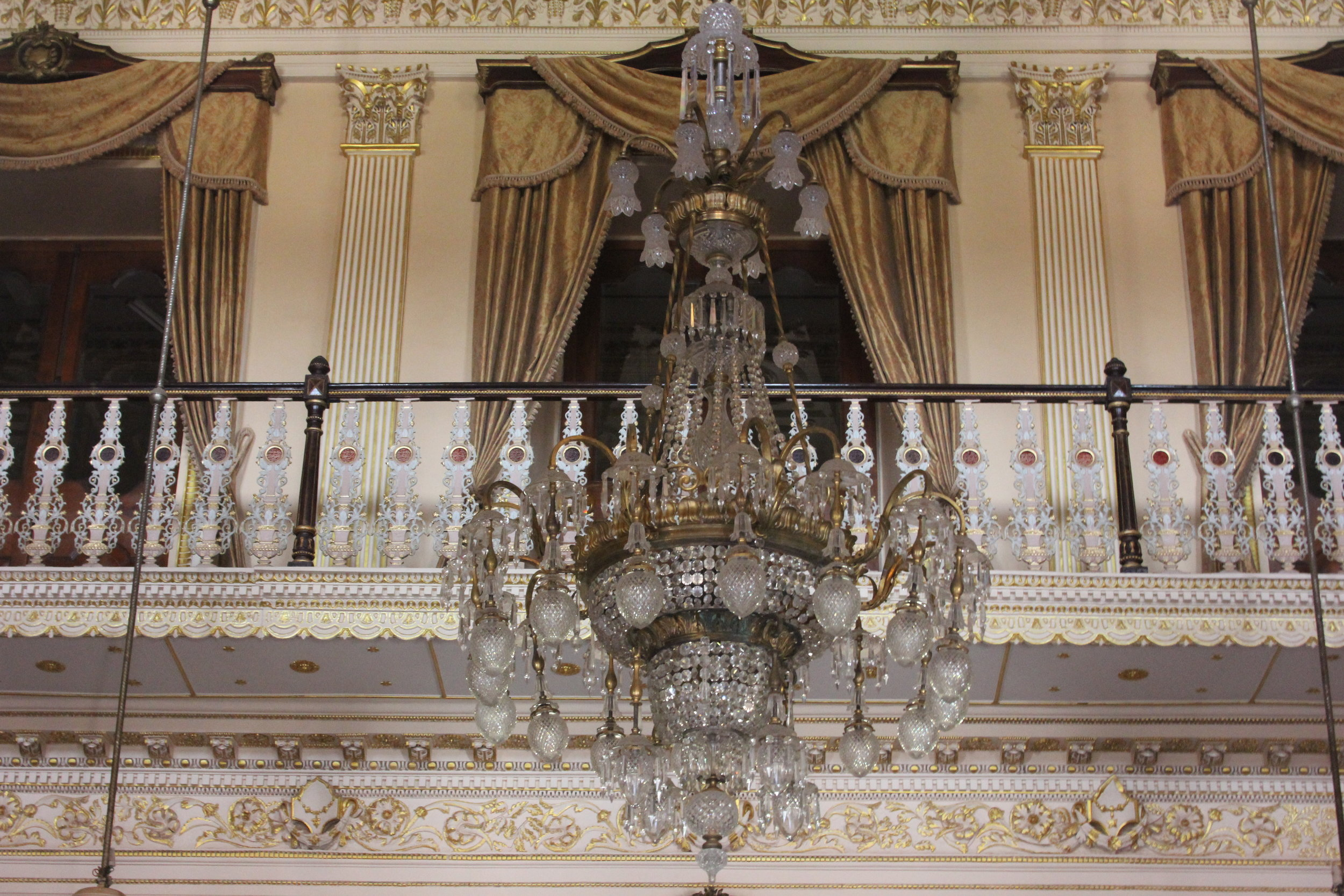 Chowmahalla Palace Chandeliers