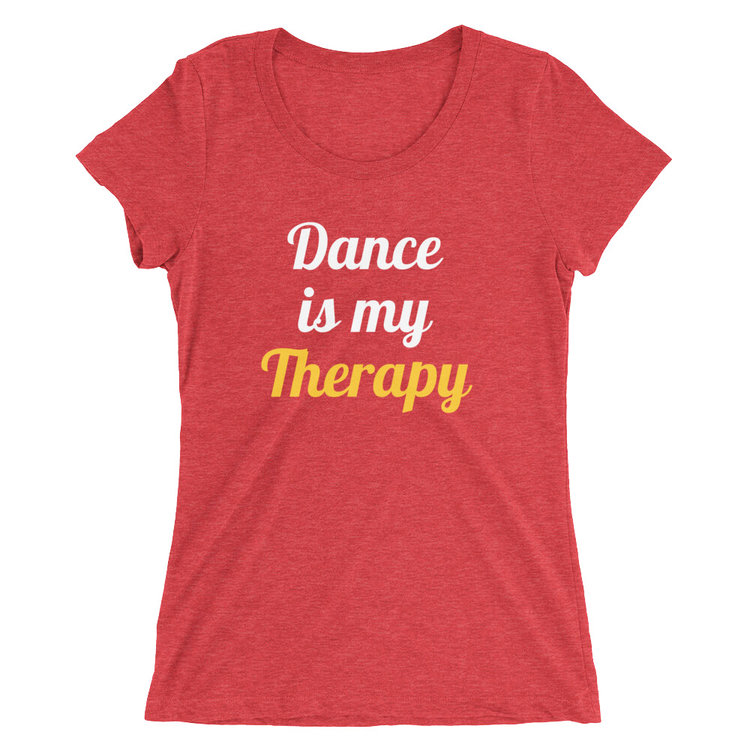 Dance is… - Red dance t-shirt · Dance Nerd